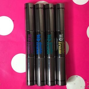 4 Set Urban Decay dual ended colored mascara